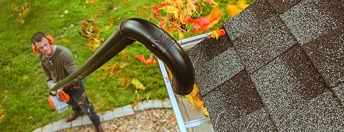 Shine vacuum gutter cleaning service in Bristol