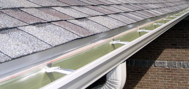 Clean Gutters after professional gutter vacuum service by Shine in Bristol.