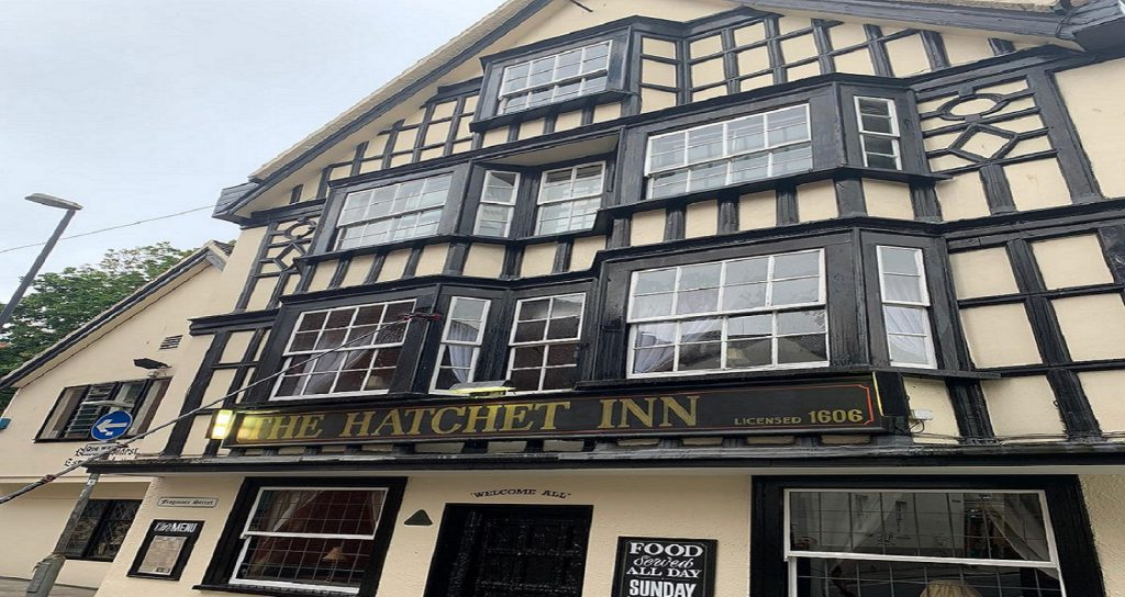 Hatchett Inn windows cleaned by Shine in Bristol.