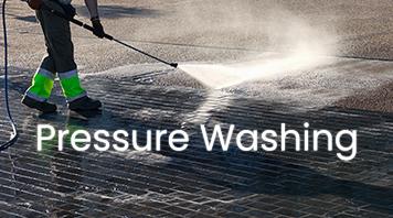 Shine washer pressure washing cement floor